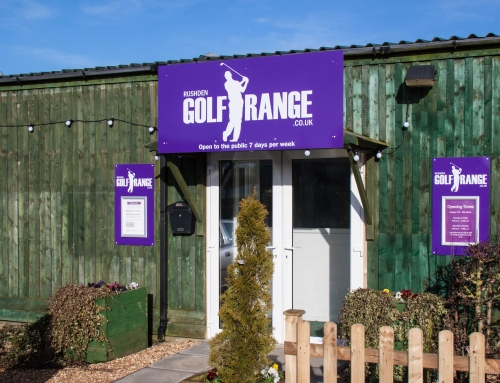 Welcome to Rushden Golf Range