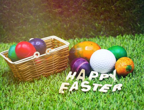 Easter fun at Rushden Golf Range